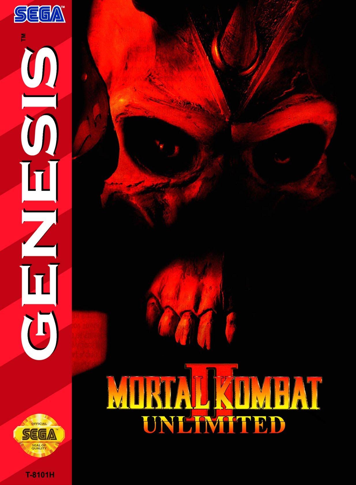 Mortal Kombat 2 Super Hack Sega Genesis • Mortal Kombat